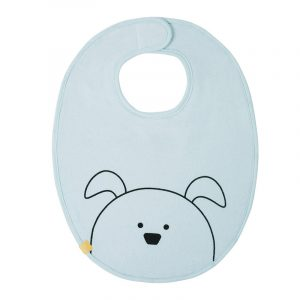 Lässig Bavaglino Impermeabile Little Chums Dog Blu - Medium