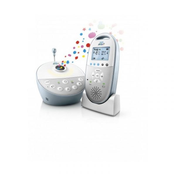 Avent Philips Baby Monitor DECT con Luce Soffusa