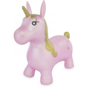 Skippy Unicorno Cavalcabile Rosa