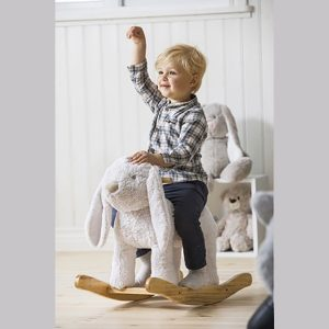 Teddykompaniet Rocking Puppy Dog Lolli is a cute ride-on rocking puppy dog, suitable for children from 3 years of age.