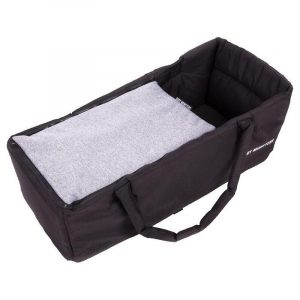 Baby Monsters Soft Carry Cot HEATHER GREY