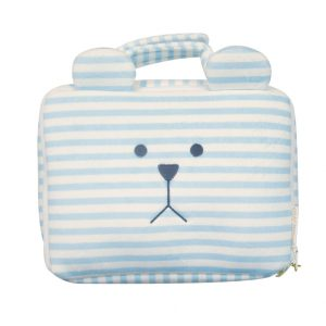 Craftholic Beauty Case Valigetta SLOTH l'orso Righe Blue