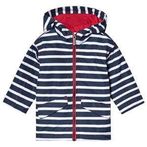 Hatley Impermeable per Bambino Righe Blu