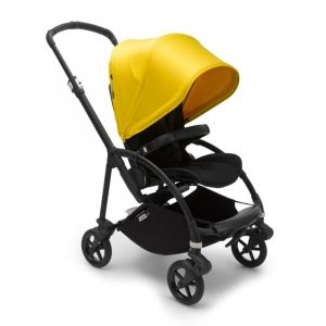 Bugaboo Passeggino Bee 6 BLACK/BLACK-LEMON YELLOW