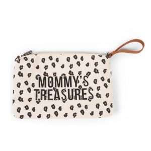 Childhome Pochette Mommy's Treasures Clutch Leopard
