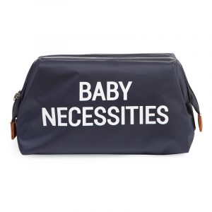 Childhome Beauty Case Baby Necessities Navy White