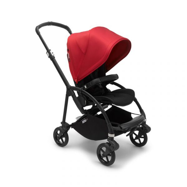 Bugaboo Passeggino Bee 6 Black Grey - Red