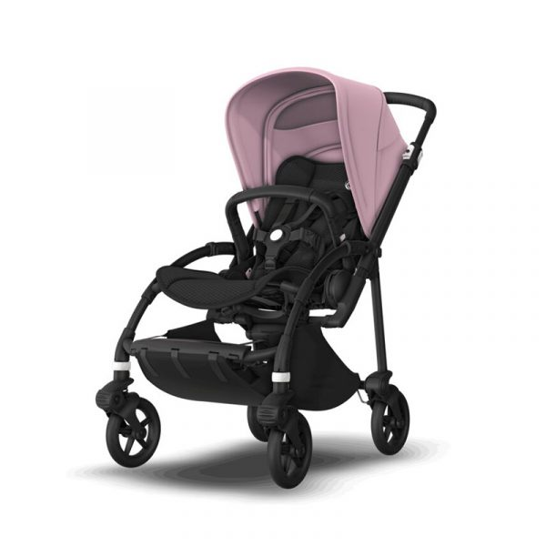 Bugaboo Passeggino Bee 6 Black Black - Soft Pink