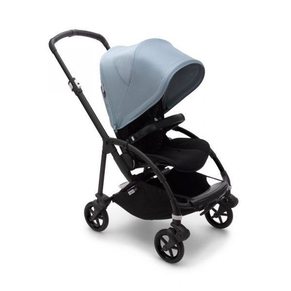 Bugaboo Passeggino Bee 6 Black Black - Vapor Blue