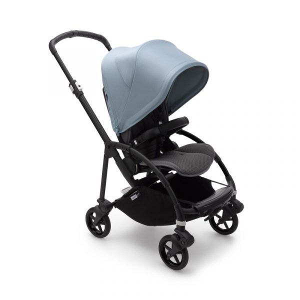 Bugaboo Passeggino Bee 6 Black Grey - Vapor Blue