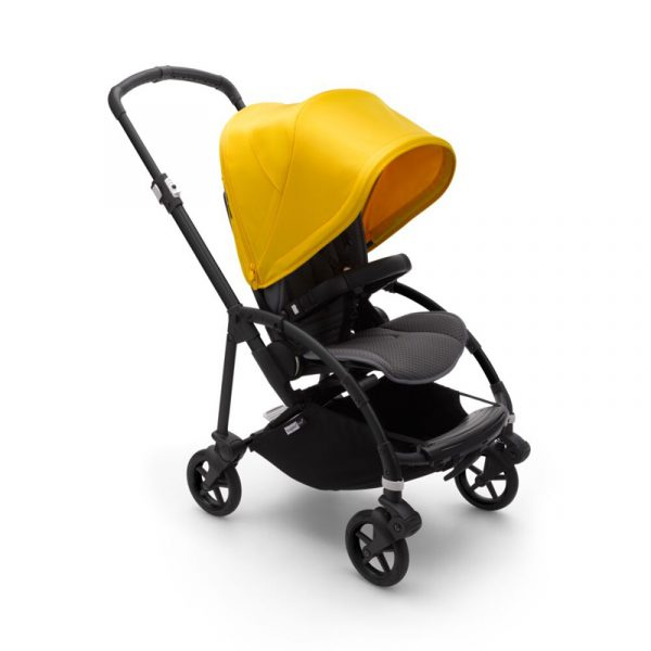 Bugaboo Passeggino Bee 6 Black Grey - Yellow
